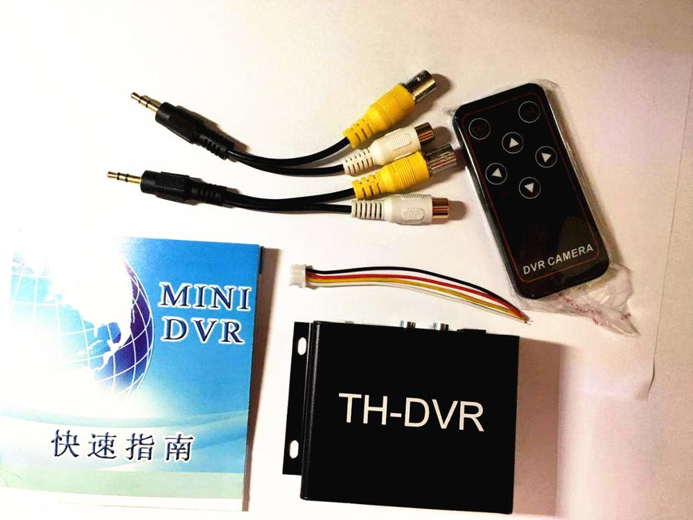 NEW TH-DVR C-DVR Dual Card FPV Mini DVR Digital Video Audio Recorder supports 1080P 720 HD AHD/TVI/CVI with romote control недорого