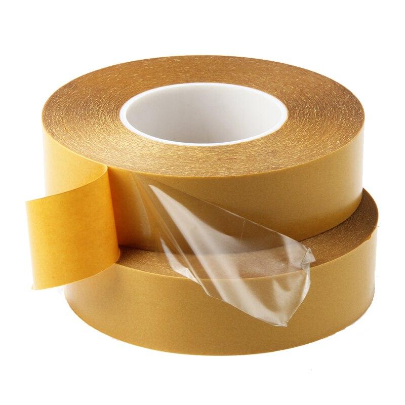 Cinta adhesiva transparente de doble cara de 50M, cinta adhesiva fuerte desmontable, pegatina para coche, pasta multiusos para mascotas, 5mm, 8mm, 10mm, 12mm