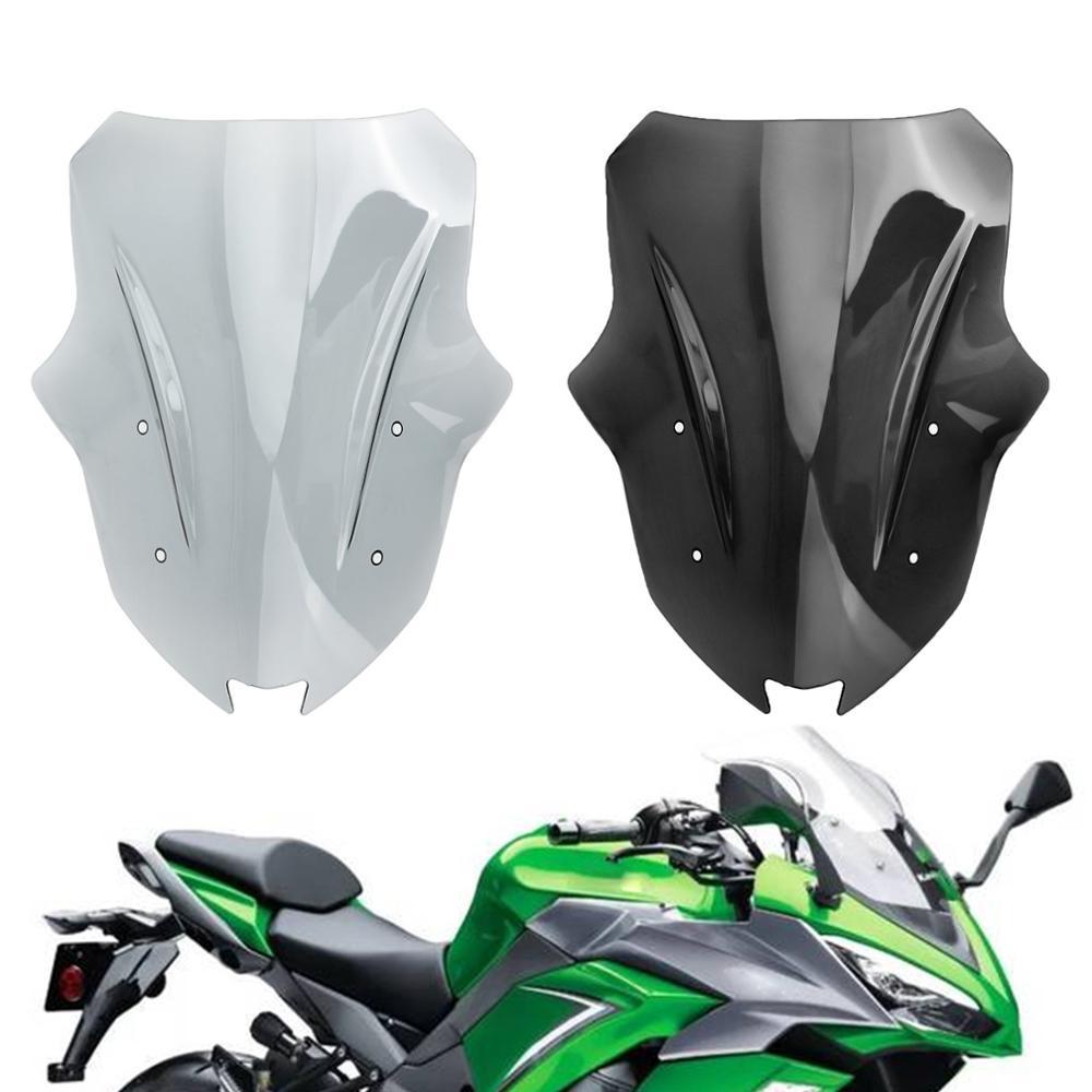 Artudatech Motorcycle Windscreen Windshield For Kawasaki Ninja 1000 Z1000SX 2017 2018 2019 2020 Motorcycle Accessories