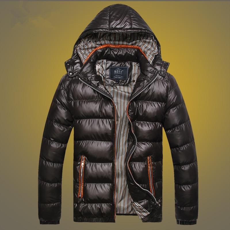 Мужские новые осенние/зимние хлопчатобумажные пуховики в повседневном стиле, хлопковая стеганая куртка, пальто, мужские зимние куртки и па...