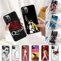 queen freddie mercury case for samsung galaxy s20 fe s21 ultra phone cover s10 lite s8 s9 plus s10e black soft silicone cas capa