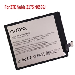 Li3930t44p6h746342 bateria 3000 mah para zte nubia z17s nx595j telefone inteligente bateria recarregável