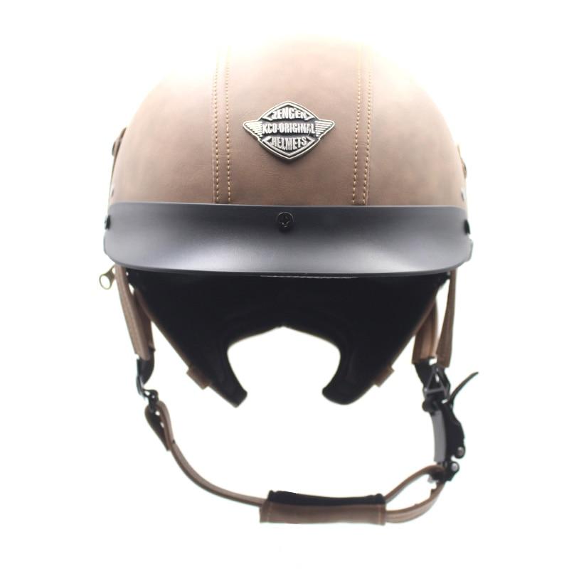 De casco de seguridad para moto semi-cubierto locomotora retro piloto semi-Casco pedal casco Prince Japón volar
