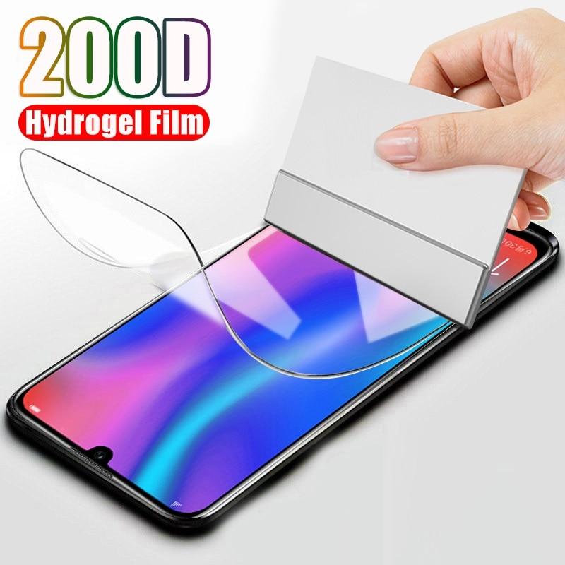 Hydrogel Film for Huawei Y7 Y9 Y9S 2018 ii Y5 Y6 Screen Protector for Huawei P Smart Pro P Smart Plus 2019 2021 S Z