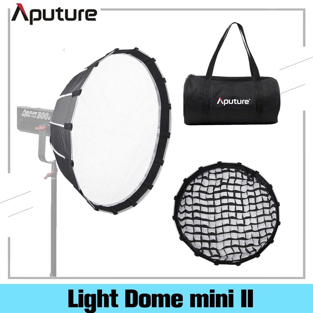 Aputure-Light Dome Mini II مع موزع فلاش شبكي لـ LS C120d II 300d ، صندوق ناعم ، تركيبات تركيب Bowens ، ناشر خارجي