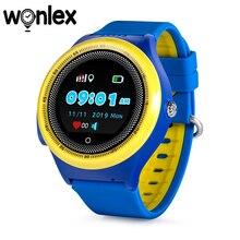 Смарт часы Wonlex KT06 с GPS трекером, круглые детские водонепроницаемые часы с вибрацией, часы с функцией телефона 2G, портативное устройство