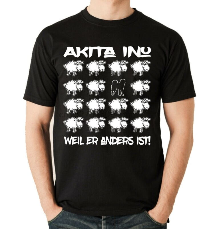 Camiseta de oveja negra, camisa de Perro Japonés, INU, Hunde Fun, Schaf,...