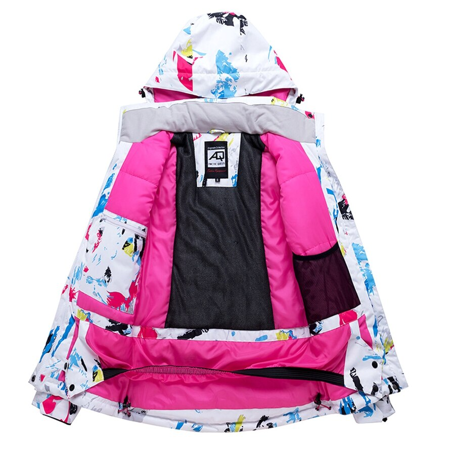 New Fashion Women Ski Suit Warm Waterproof Breathable Snowboard Jacket Pants Windproof Outdoor Sports Wear Female Skiing Suit