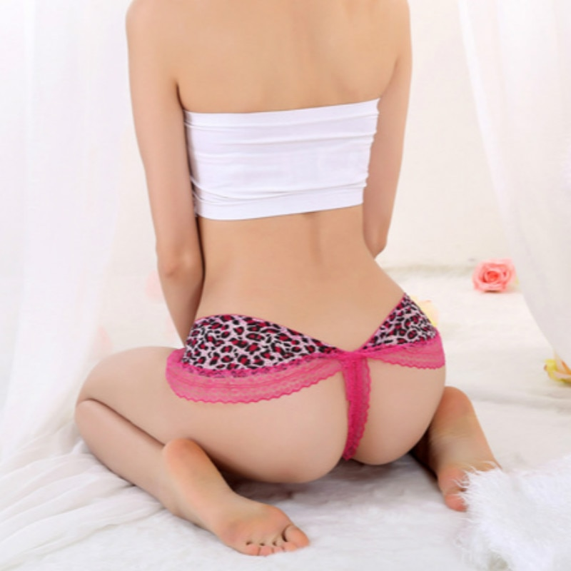 Sexy Underwear Women Lace With Back Bow Briefs Thong Transparent Panties Seamless Low Waist Women Lingerie Panty Tangas Briefs embroidery bow detail slips with thong