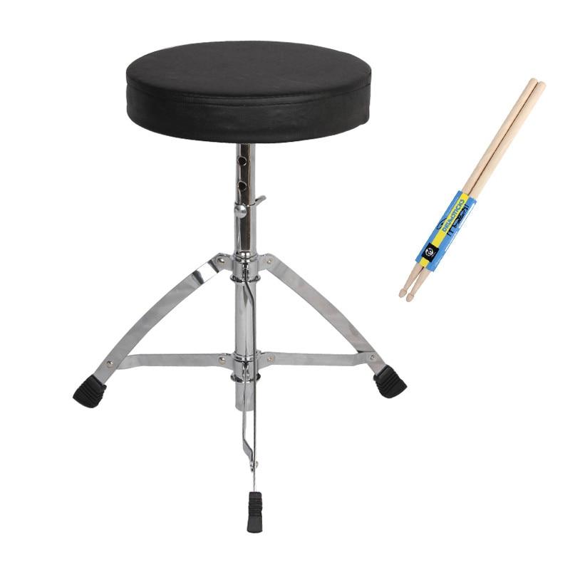 15%,Folded stainless steel Drum stool single erhu electronic drum metal piano stools keyboard electric steel lifting rack stool
