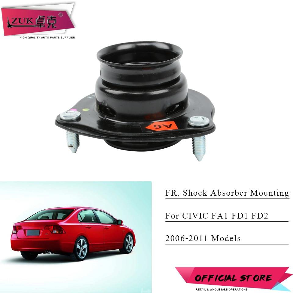 ZUK amortiguador de impacto frontal montaje de goma para HONDA CIVIC FA1 FD1 FD2 2006, 2007, 2008, 2009, 2010, 2011 OE #51920-SVB-A03 izquierda = derecho