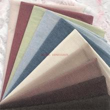50cmx70cm High Quality All Cotton classic mini grid DIY handmade cotton basis before dyeing Hand-made Cloth DIY 240g / m