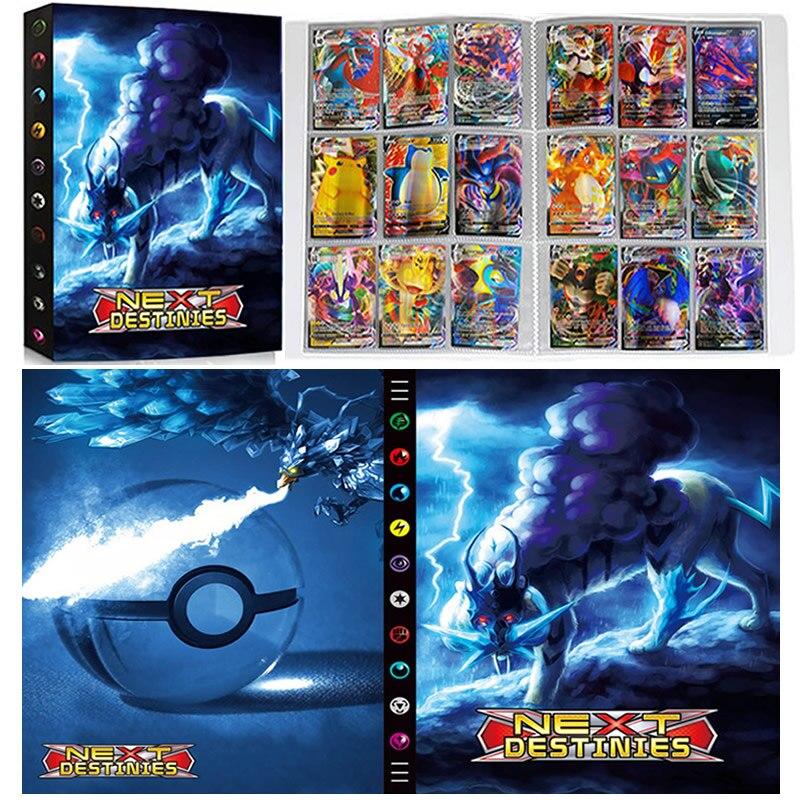 Álbum de Pokémon con 9 tarjetas de bolsillo, carpeta para colección de...