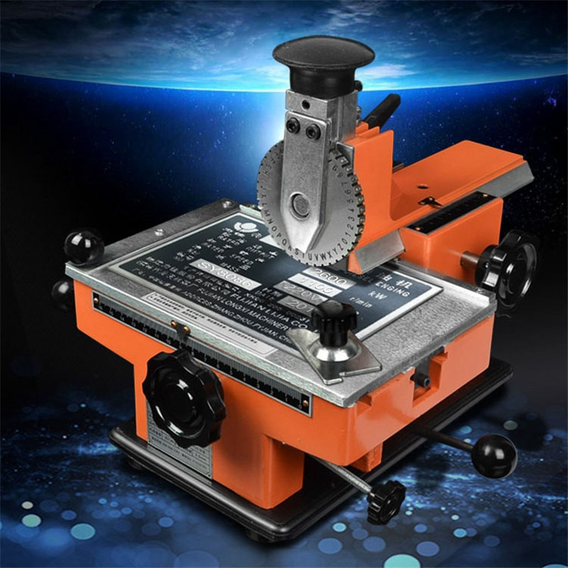 آلة وسم صغيرة لسطح المكتب ، أداة نقش الفسيفساء ، ميدالية الألمنيوم ، الفولاذ المقاوم للصدأ ، البرونز ، PVC ، البلاستيك