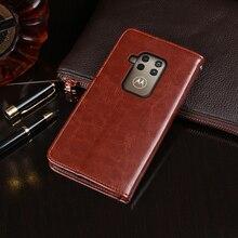 Pour Motorola One Zoom étui portefeuille à rabat affaires en cuir Capa téléphone étui pour Motorola un Zoom couverture Fundas accessoires