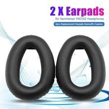 2pcs Ear Pads Memory Foam Sponge Cushions Earpads  Practical and Durable Simple Comfortable for Sennheiser PXC550 Headset