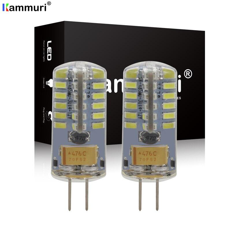 2 uds 6000K 4500K No Error Canbus G4 HP24W 48smd bombillas LED para Citroen C5 Peugeot 3008 LED DRL luz diurna 1000 lúmenes