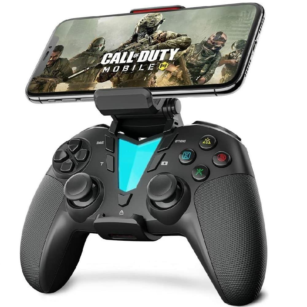 IFYOO controlador inalámbrico Bluetooth, iOS para consola 13,4/iPhone/Android/PC Steam/PS4, para Call of...
