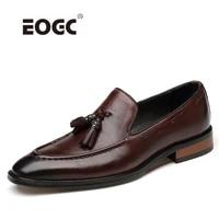 handmade men dress shoes vintage retro natural leather oxford shoes for men comfort plus size formal wedding party shoes men