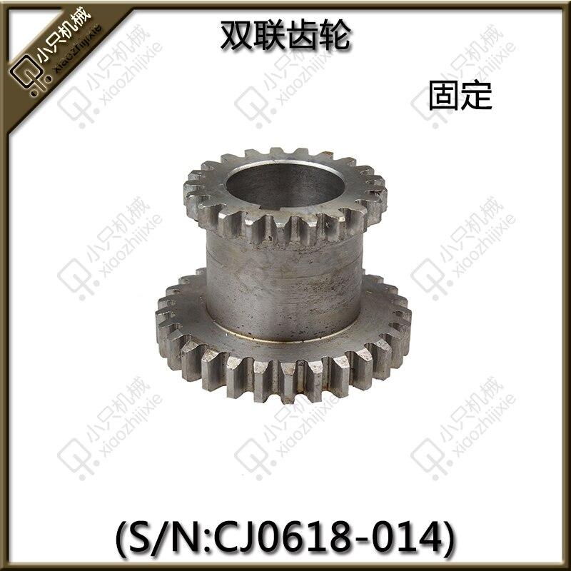 free shipping 1 pcs / set Teeth T29xT21  Dual Dears Metal Lathe Gears For Sale