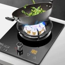 Cuisine intégrée cuisinière à gaz ménage cuisinière unique table de cuisson gaz naturel bureau cuisinière chaude chronométré gaz liquéfié table de cuisson