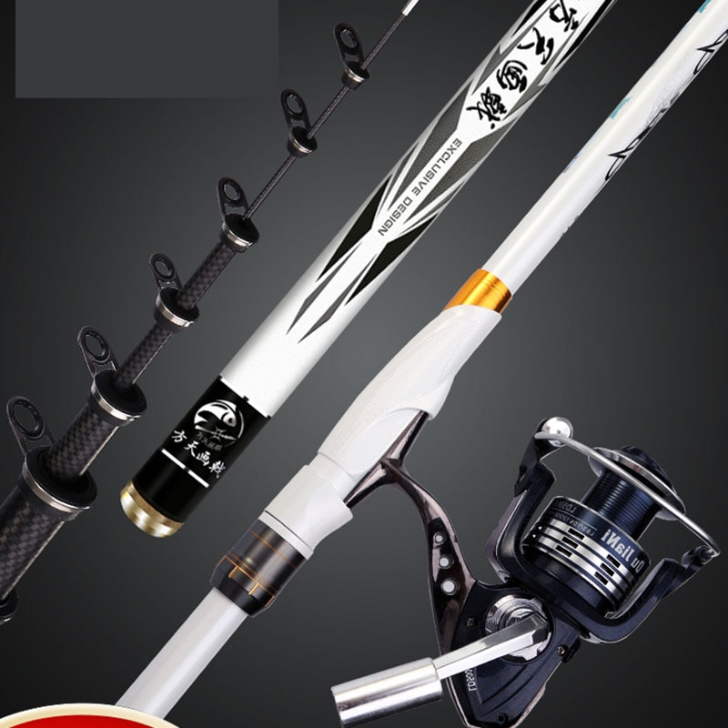 Decoration Handle Fishing Rod Travel Accessories Support Shore Casting Fishing Rod Freshwater Canne Casting Entertainment HX50FR enlarge