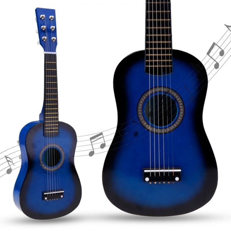 "Fun 6 strings 23"" musical teaching instruments kids guitar kids toys student guitar ukulele acoustic guitar enlarge"