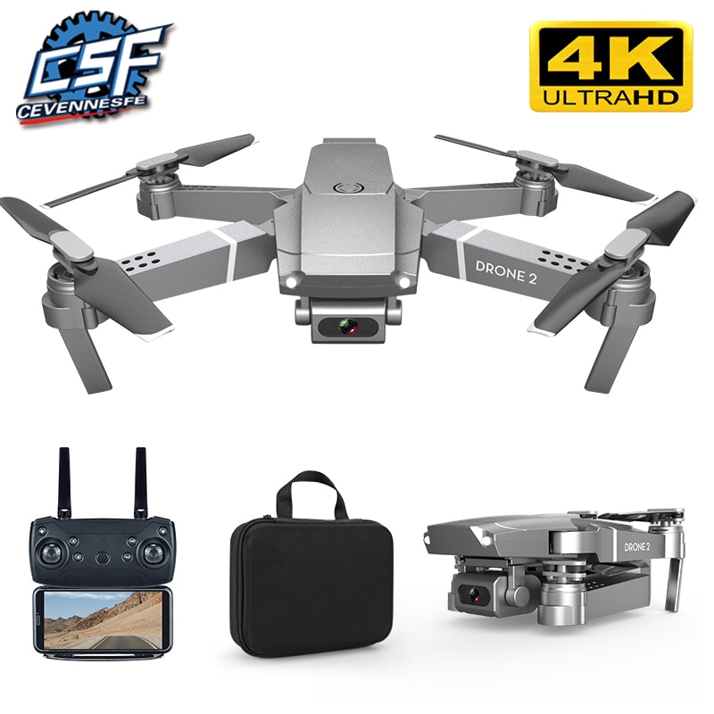 NEW E68 Drone HD wide angle 4K WIFI 1080P FPV Drones video live Recording Quadcopter Height To maintain Drone Camera Toys