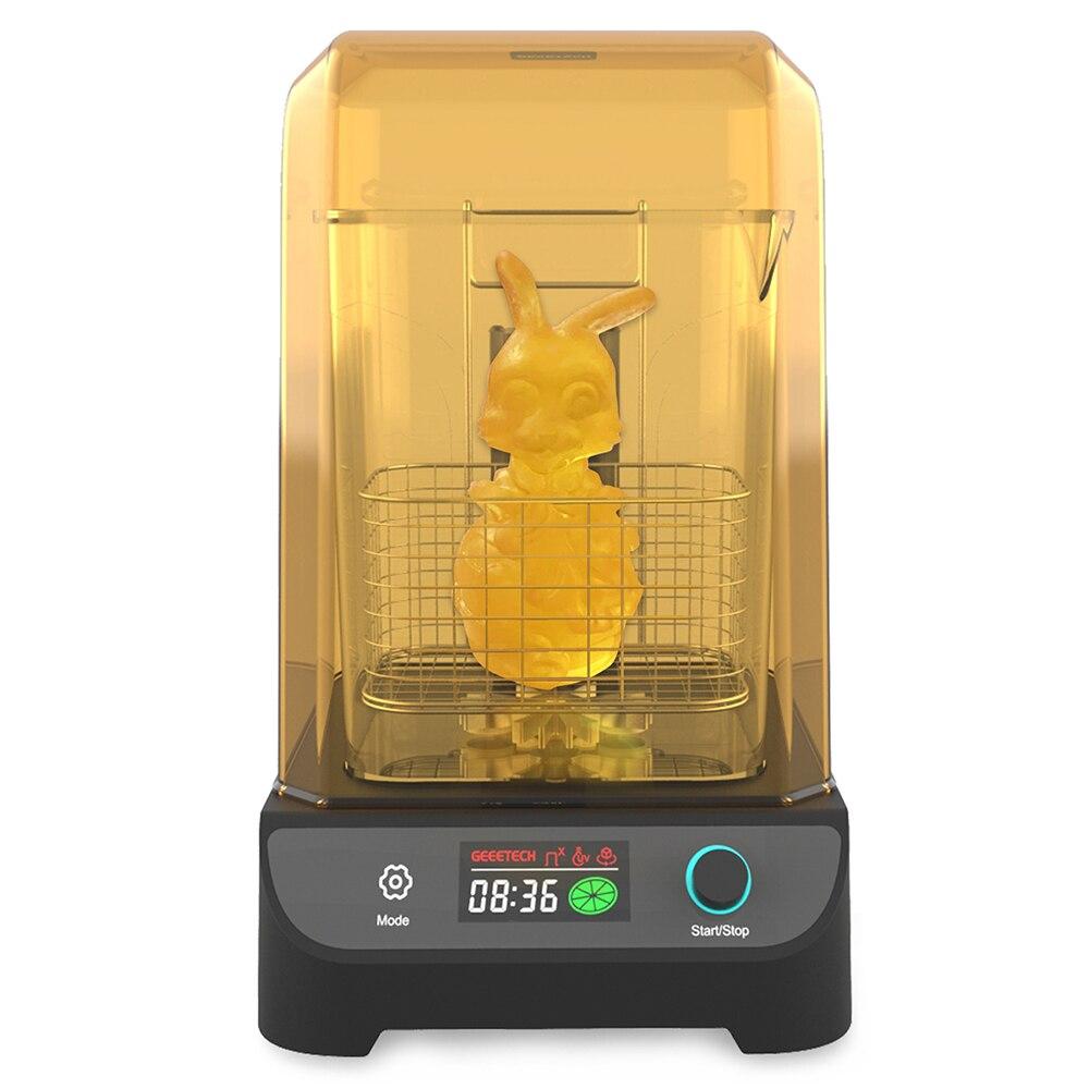 Máquina de Lavar e Curar para Impressora Geeetech 60 60min 12v 66w Gcw02 3d uv 0