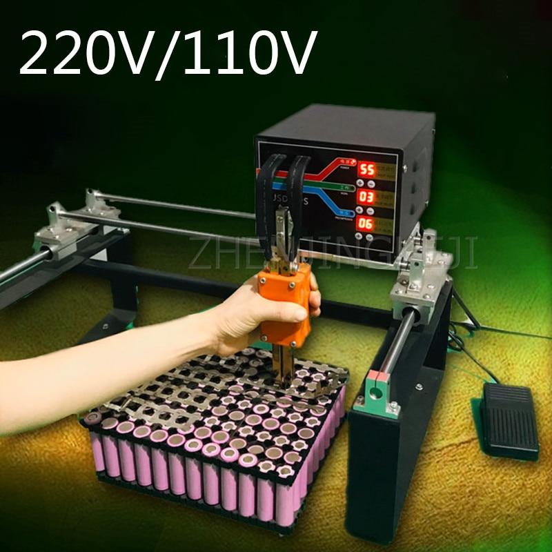 220V/110V دليل بقعة لحام بطارية ليثيوم لحام لحام كبيرة بطارية سيارة الطاقة لحام آلة كبيرة 3000W