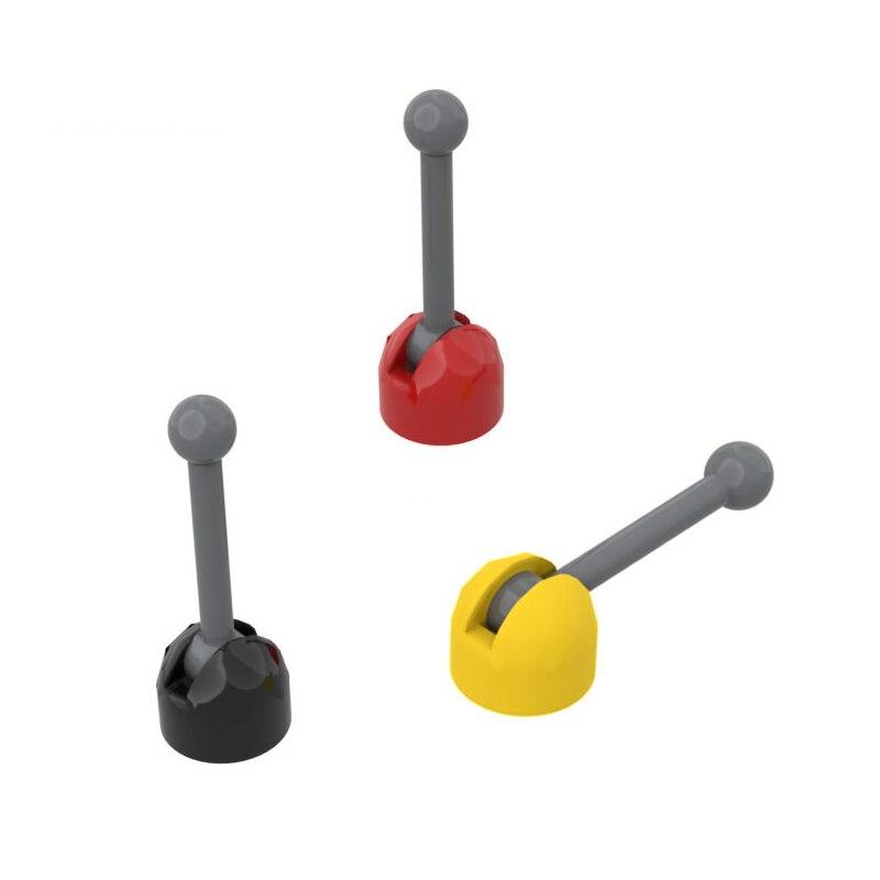 Diy piezas de bloques de coche Joystick ladrillo técnico cambio captura para piezas de bloques de construcción coche educativo creativo regalo juguete