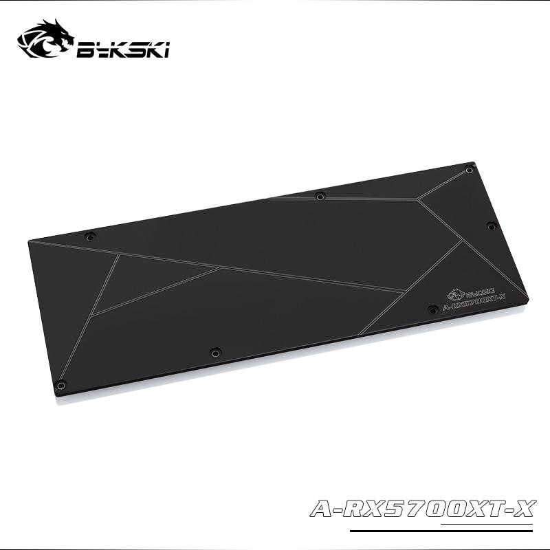 Bykski металлический бэкплейт используется для AMD RADEON RX5700/5700XT GPU Блок/совместим только с Bykski 5700 блок толщина 3 мм