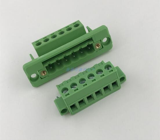 2EDG 5,08mm Paso 2P/3P/4P/5P/6P/8P/9P/P 10/12P/16P/18/P/22P 2 conector de bloque de terminales enchufable EDGWC K2EDGWC-5.08MM paso