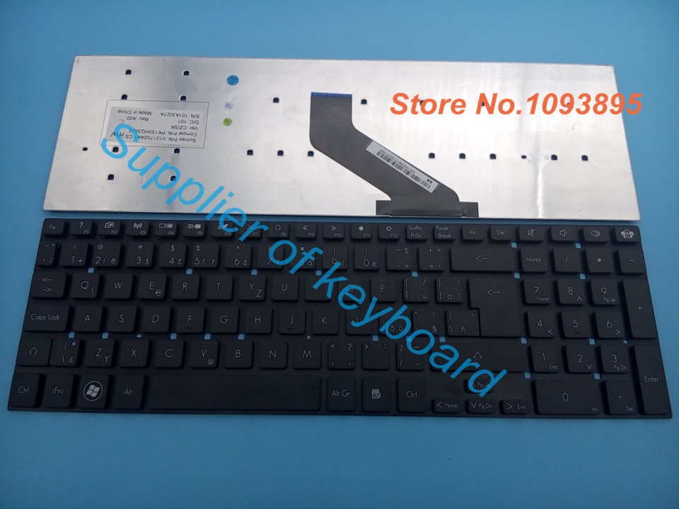 Новая Чешская и Словацкая клавиатура для Acer Aspire V3-7710, V3-7710G, V3-731, V3-771G, V3-772, Чешская клавиатура