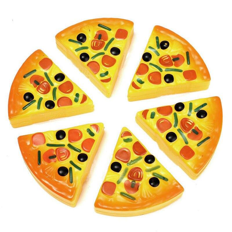 6 sztuk dla dzieci dziecko gra udawaj zabawki Pizza Party kuchnia wystrój domu DIY Fast Food gotowanie udawaj zagraj zestaw zabawek prezent gorące materiały