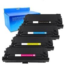 4 X Compatible HP 508X CF360X CF360A 508A Cartouche De Toner pour HP Laserjet M553N M553DN M553X M227C M557Z M557F M577DN, Noir