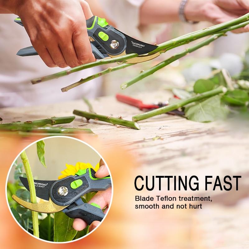Recorte de plantas, tijeras de podar para arbustos, tijeras de - Herramientas de jardín - foto 6