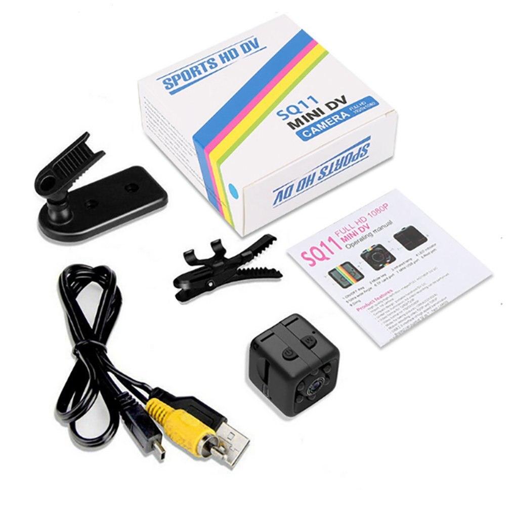SQ11 Mini Micro HD Camera Dice Video Night Vision 1080P 960P Camcorder Motion Sensor Monitors Wifi Remote