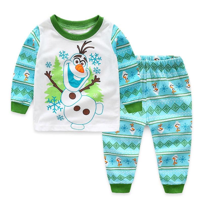 2019 Pijama Infantil Gecelik Roupas koshula camisón de dibujos animados Nocna pijamas de Navidad para niños Conjunto de Pijama de niño Pjs de coche
