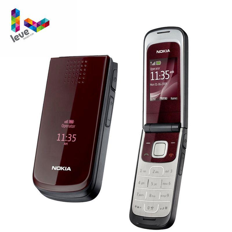 Перейти на Алиэкспресс и купить Разблокированный Мобильный телефон Nokia 2720 б/у с русской и арабской клавиатурой, бесплатная доставка, самый дешевый