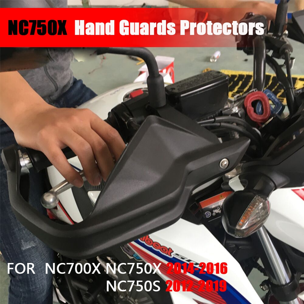 1 par de la motocicleta guardamanos para Honda NC700X NC750X NC750S NC750X 2013, 2014, 2015, 2016, 2017, 2018, 2019 guardias protectores