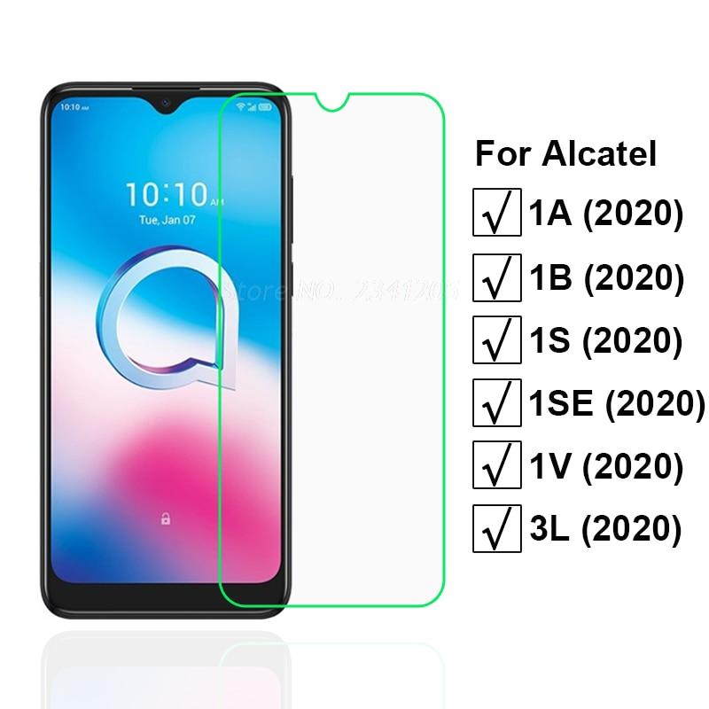 2-1PCS Tempered Glass For Alcatel 1S 1V 3L 1SE 2020 Screen Protector Protective Glass for Pelicula Alcatel 1A 1B 2020 Case Vetro недорого