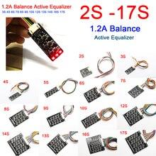 2S-17S 1.2A Balance dégaliseur actif BMS carte de transfert dénergie Li-ion Lifepo4 LTO batterie au Lithium 12V 24V 36V 48V 60V 72V 4S 16S