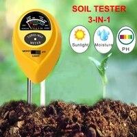 soil ph meter 3 in 1 soil test kits with moisture light ph tester portable for plant garden j8