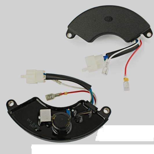 220v single phase Power avr 188F 190F Gasoline AC Generator Control Automatic Voltage Regulator stabilizer 5kw 6wires GX390