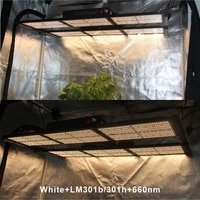 updated v4 indoor plant pots 240w led grow light full spectrum lm301h mix red 660nm plant light growing lights for clone