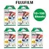 Fujifilm Instax מיני סרט 10 20 30 40 50 60 80 100 גיליונות 3 אינץ למיני 9 פולארויד פוג 'י מיידי מצלמה תמונה מיני 9 8 7s 70 90