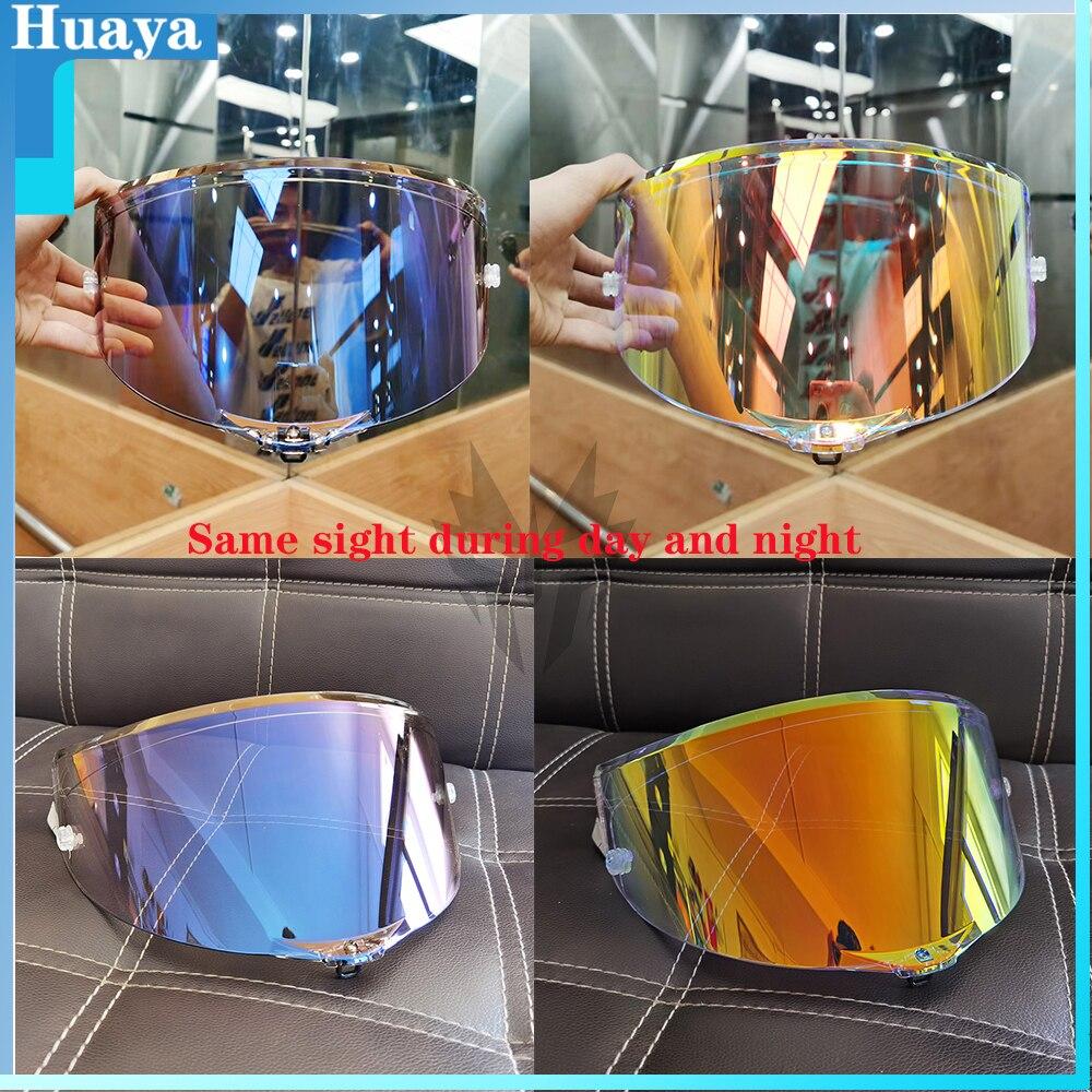 دراجة نارية خوذة لكامل الوجه نظارات عدسة قناع ل AGV بيستا GP RR كورسا R GPR R سباق 2 سباق 3 70th الذكرى