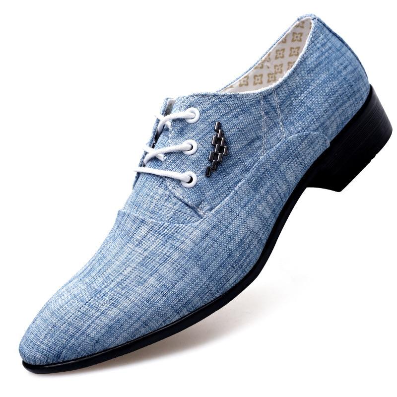 حجم كبير 48 البريطانية موضة الرجال الزفاف الأعمال فستان أحذية رجل أشار تو البروغ بولوك مكتب الأحذية الأحذية AF-12