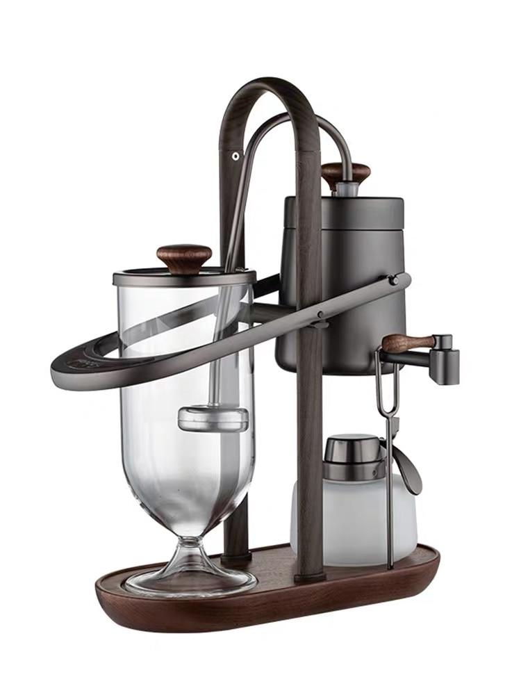 2021 nova royal belga cafeteira elegante royal balanceamento syphon cafeteira belga